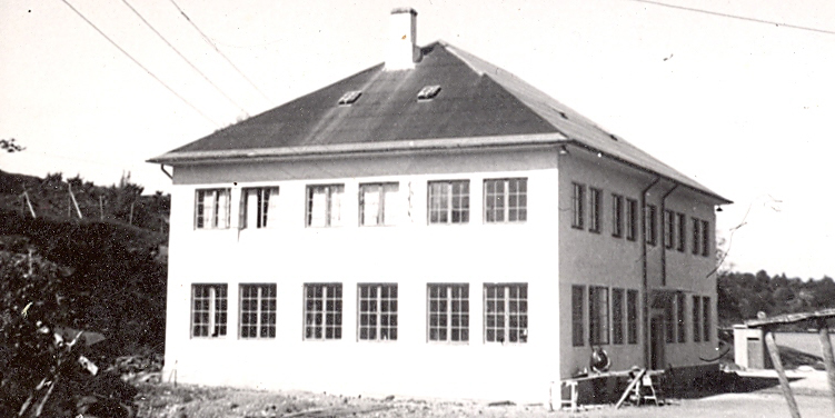 The new factory building in Hosanger