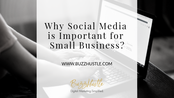 Why Social Media is Important for Small Business - FEATURED Blog Image - BuzzHustle Digital Marketing