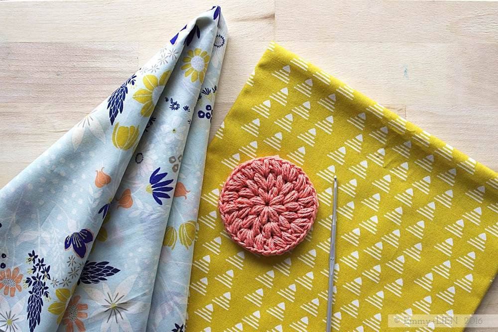 Combining Art Gallery fabrics and crochet for #MeMadeMay 2016 | Emmy + LIEN blog