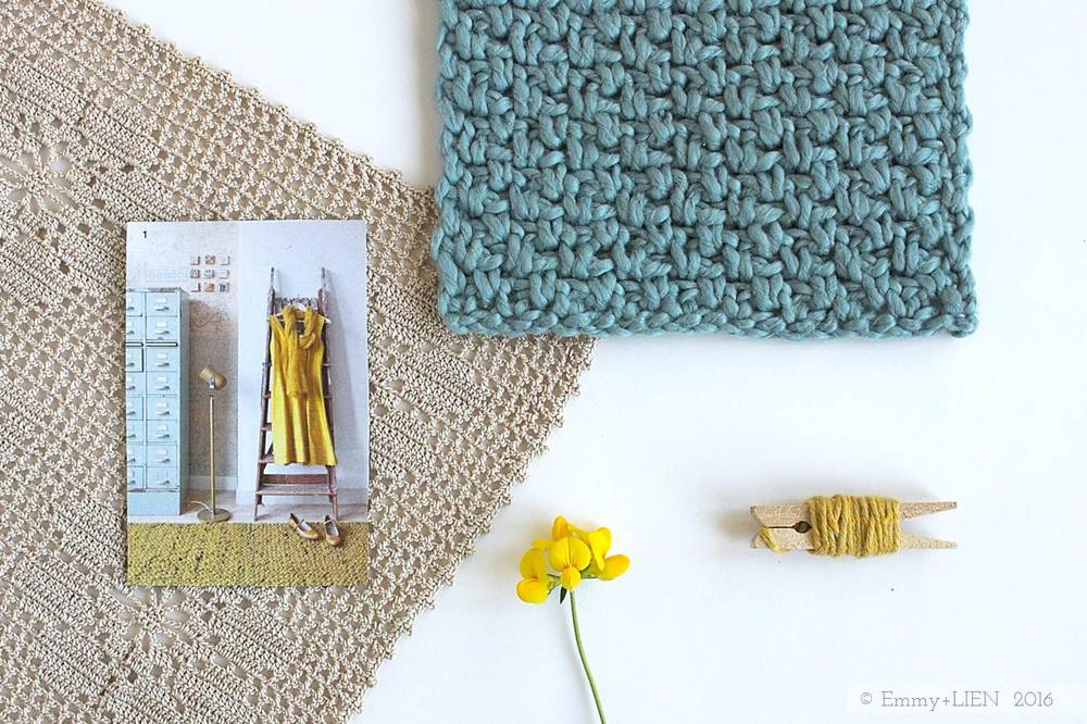 Sea water, Sun and Yarn | a new post on the Emmy + LIEN blog