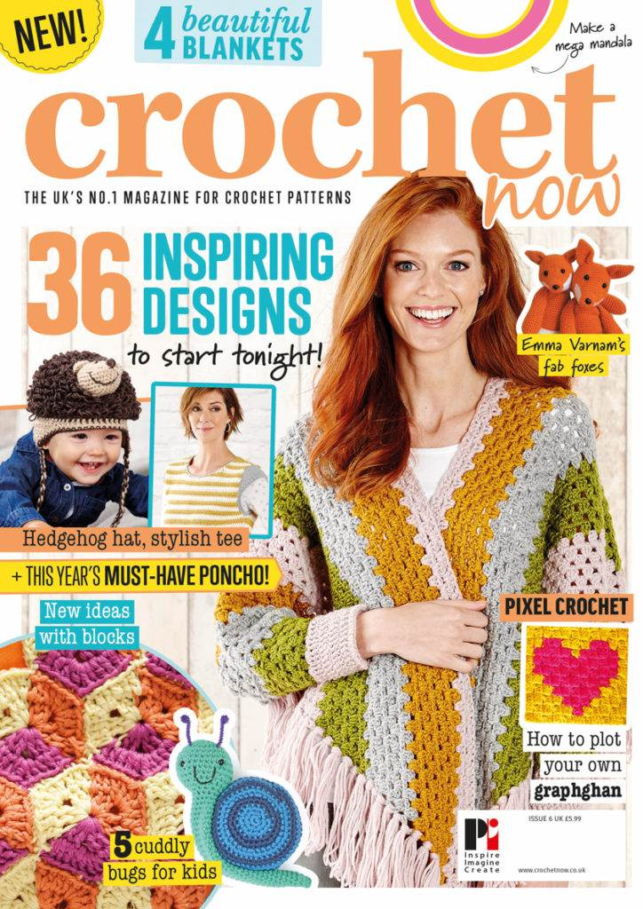 Crochet Now issue 6. Image courtesy of Practical Publishing