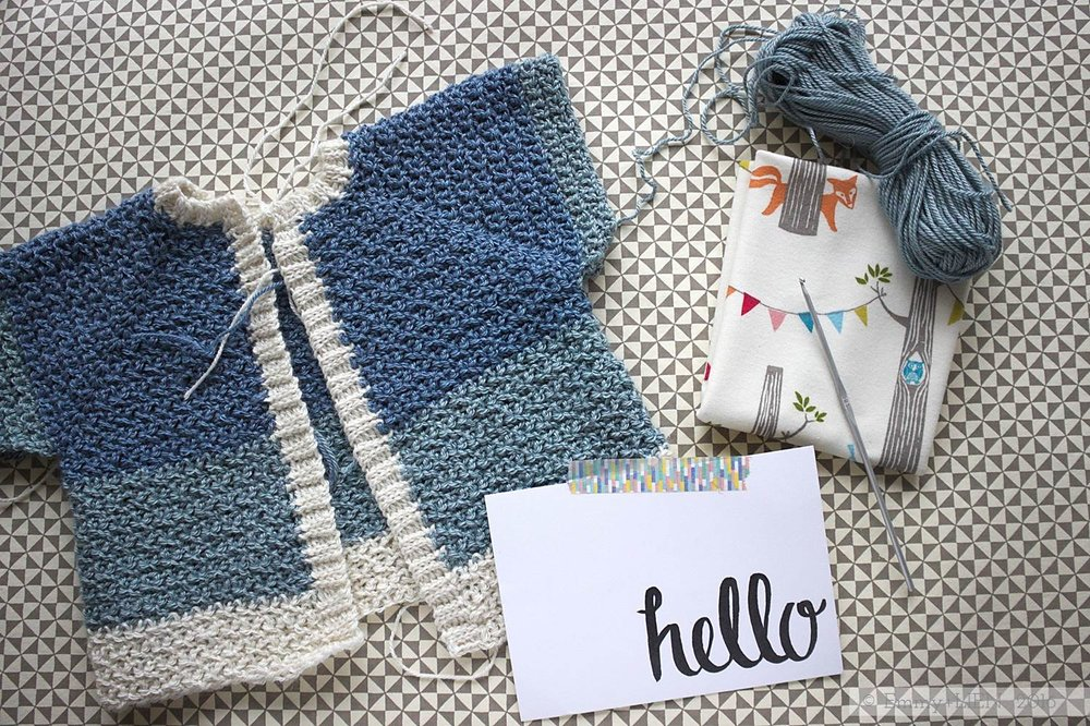 Handmaking clothes for baby || Emmy + LIEN blog