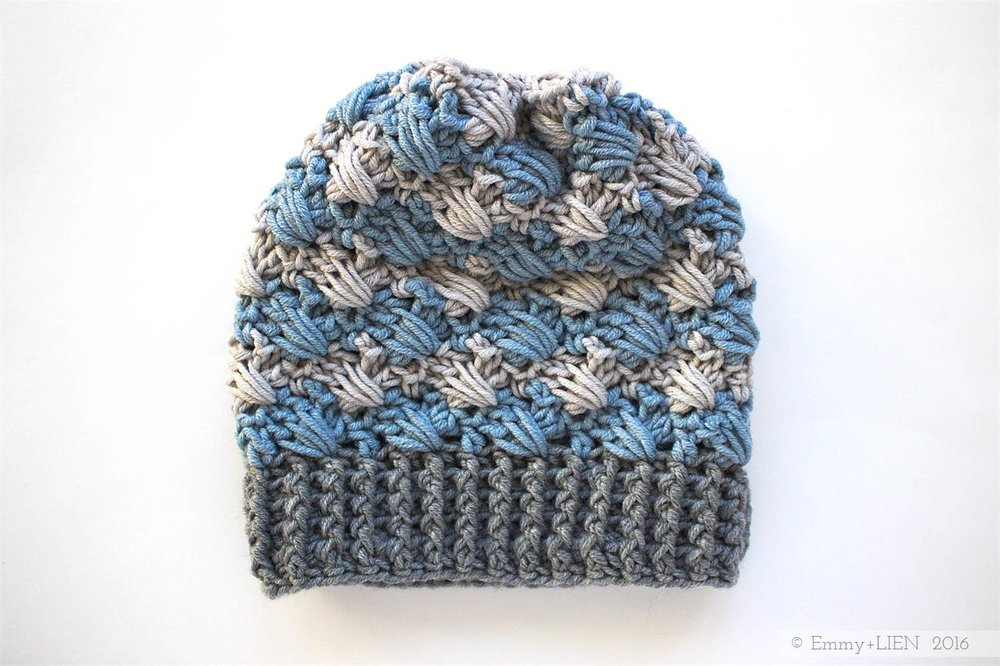 Lomma Hat | Free crochet pattern & tutorial by Emmy + LIEN