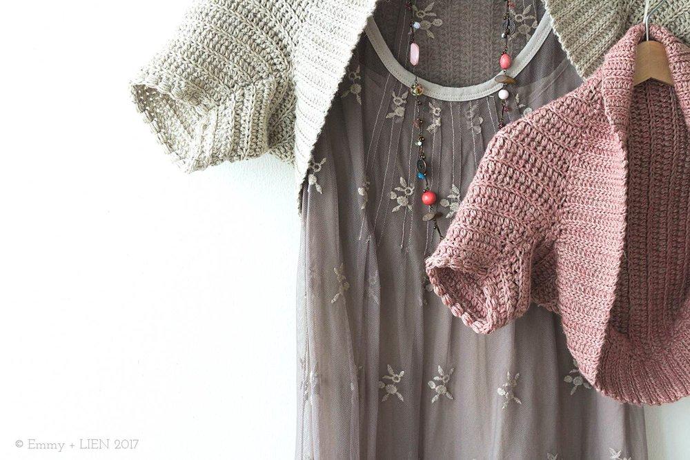 Betty Bolero | a crochet pattern by Eline Alcocer for Crochet Now (April 2017)