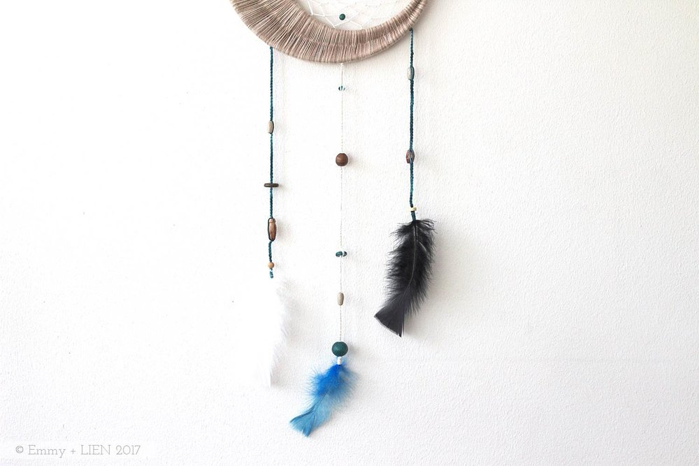 DIY dreamcatcher