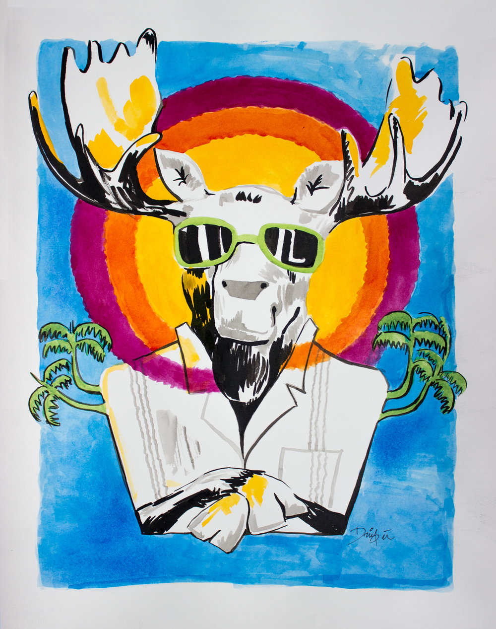 Tropical Moose