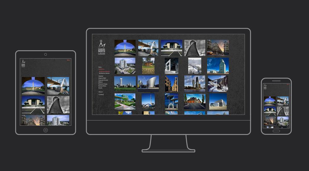 Camera North Website. Gallery Page