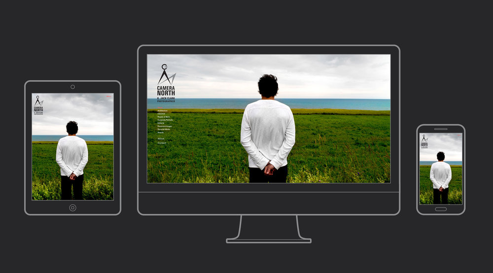 Camera North Website. Homepage