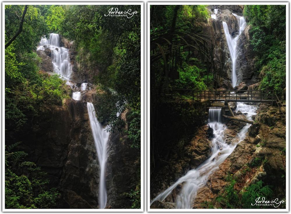 Botanical Garden waterfall 01