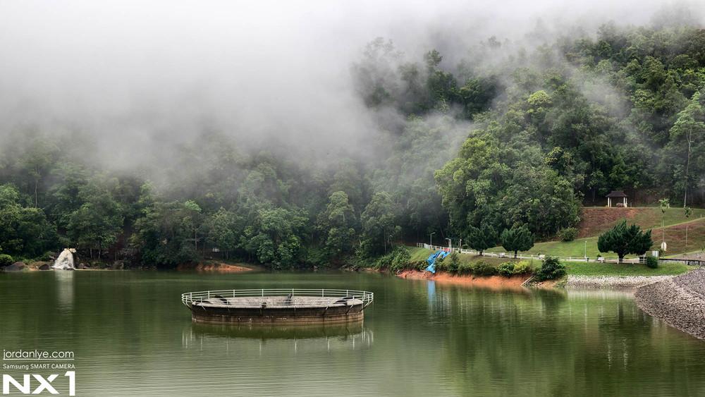 Misty Morning in Air Itam Dam