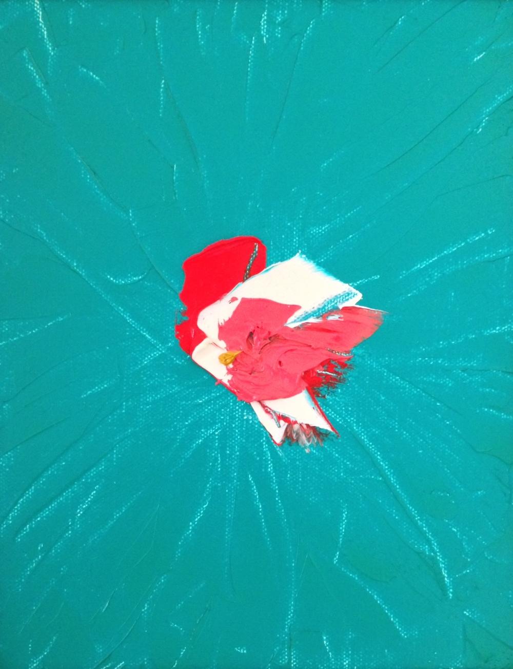 Windshield Chickadee