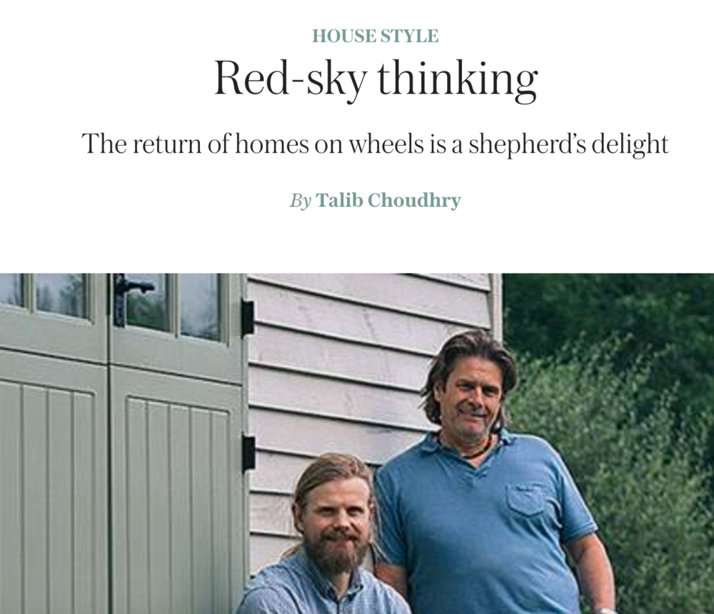 Red Sky takes the lead in this weekend's Telegraph Magazine