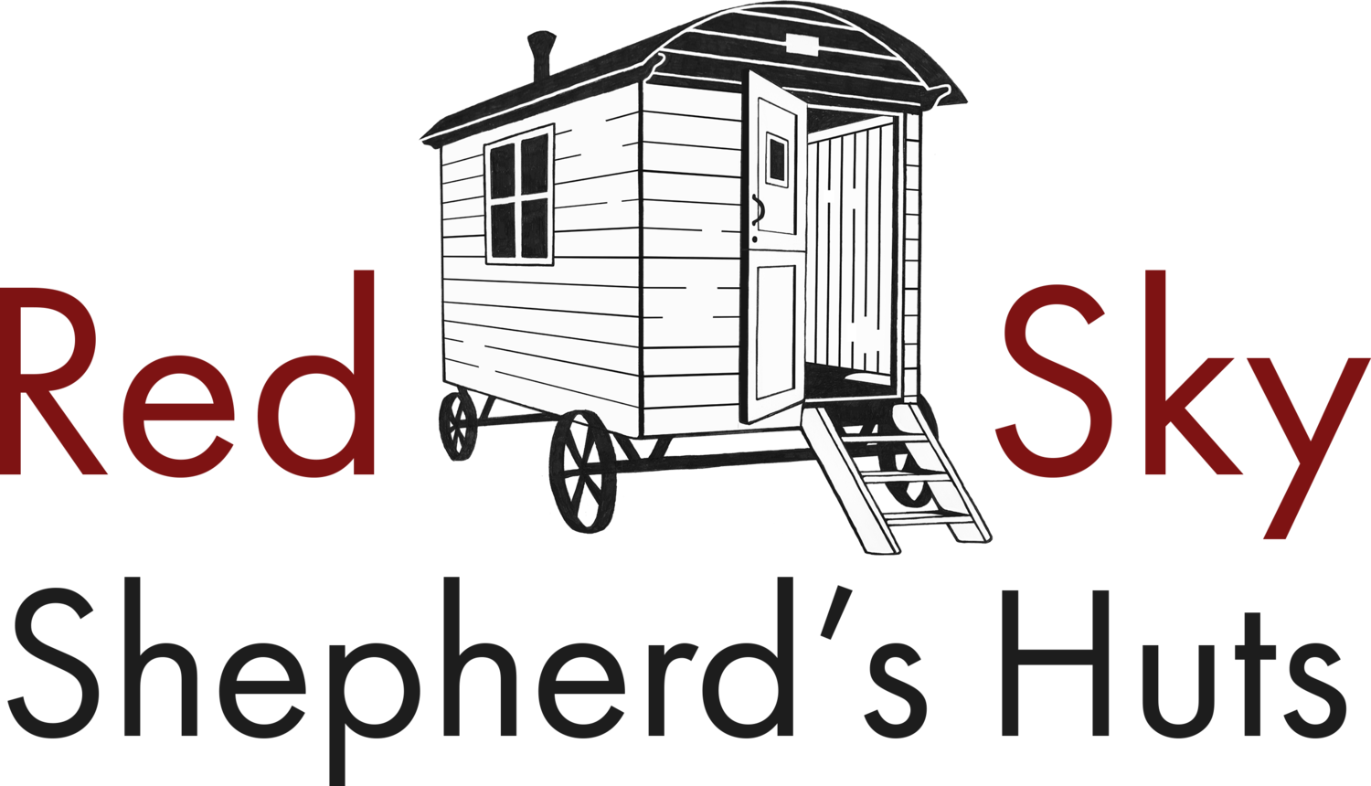 Red Sky Shepherd's Huts