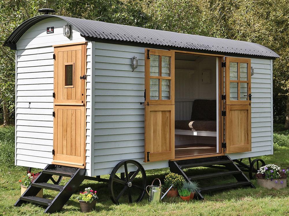 Summer house shepherds hut