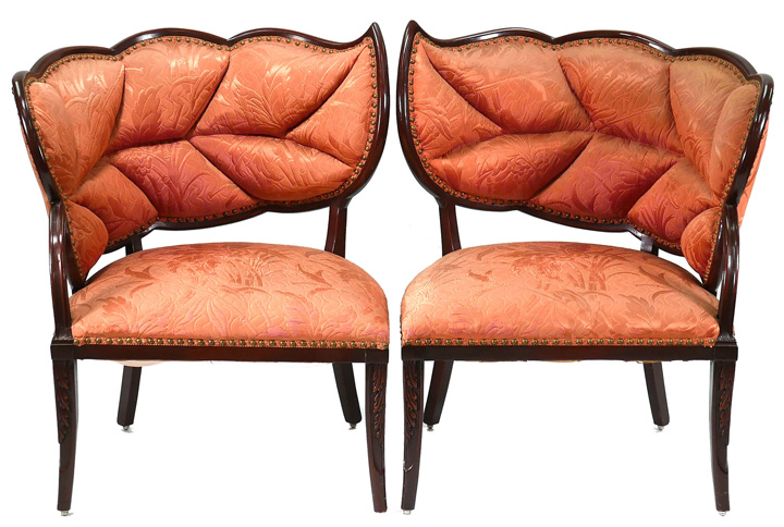 French Art Deco Chairs, lot 111