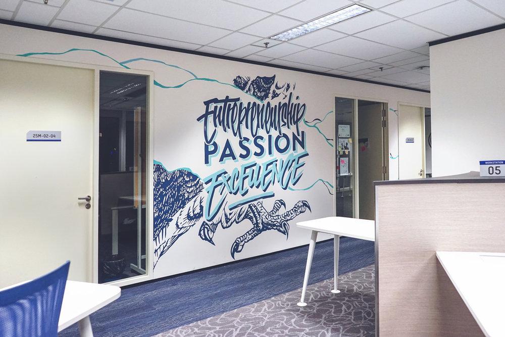 HFA Studio KL Mural