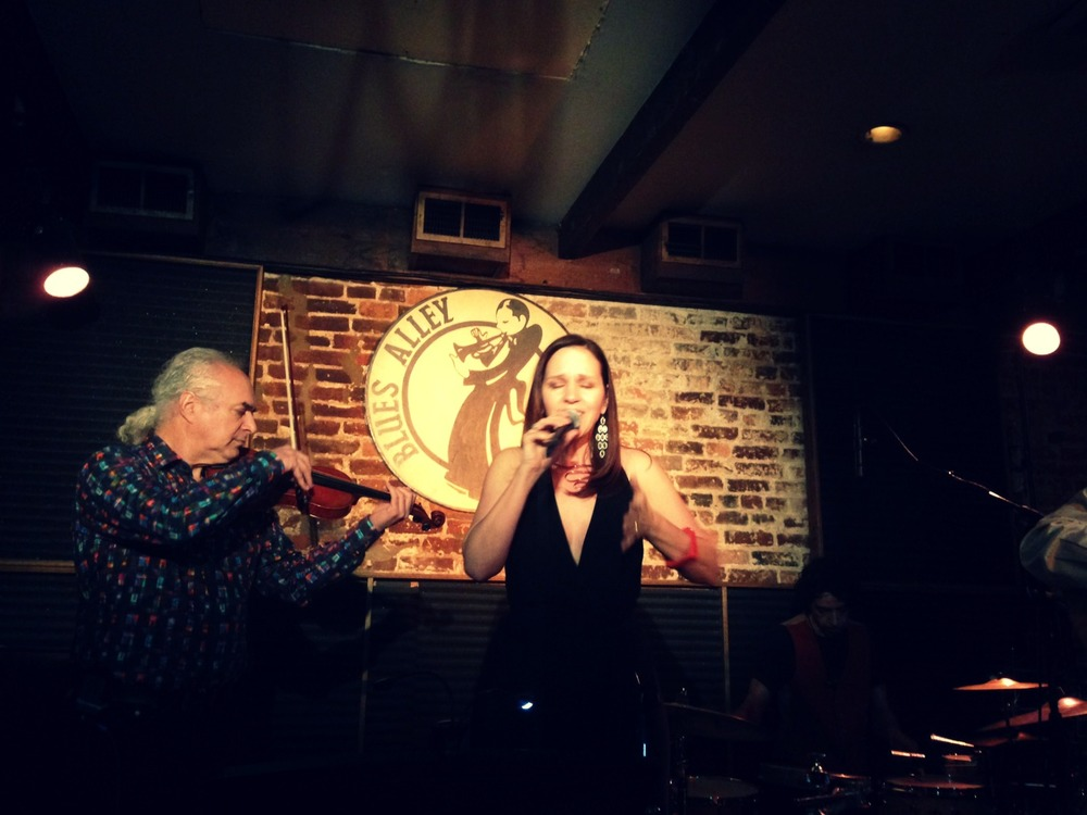Lynn Verroneau and Dave Kline at Blues Alley