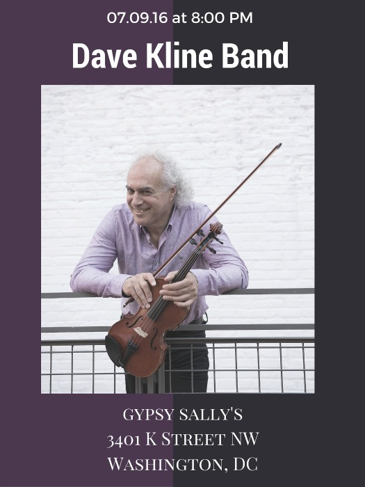 THE DAVE KLINE BAND gyspy sally's