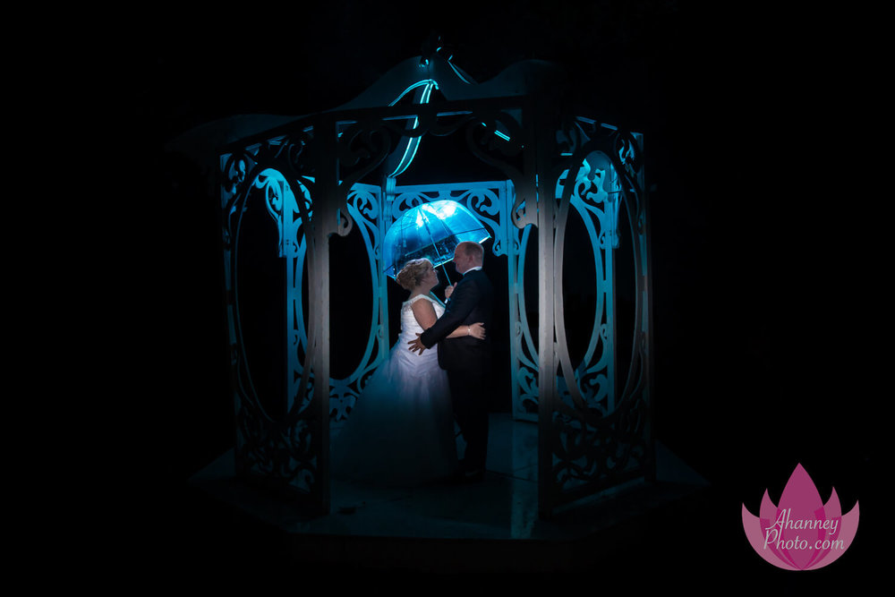 Wedding Photography of Bride and Groom in Blue Gazebo Estates at Monroe Williamstown New Jersey Knights of Columbus Anastasia Hanney Photography AHanneyPhoto
