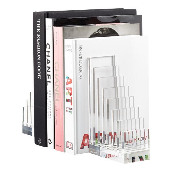 Russell+Hazel Acrylic Collator + Book End