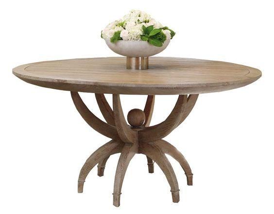 $5000 Global Views - Klismos Table (above)