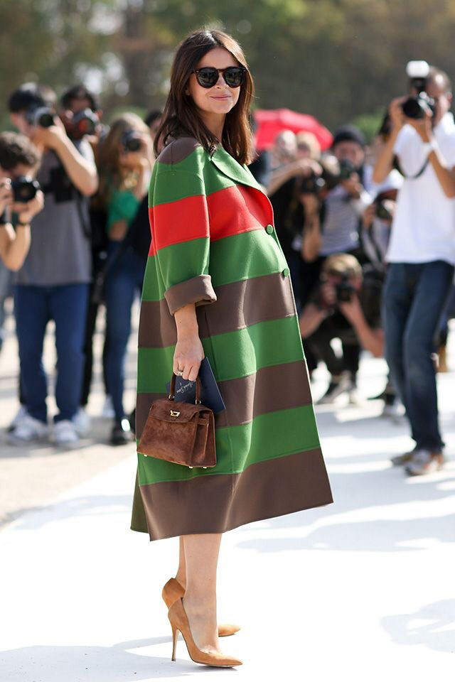 The statement piece. Every girl needs one...it's sure to get some attention. (Image Source: Fashionista.com)