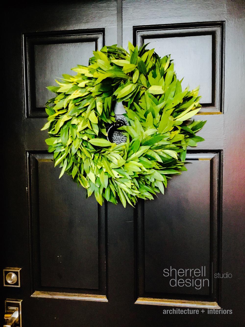 """Williams Sonoma 15"""" Fresh Bay Leaf Wreath, from $30"""