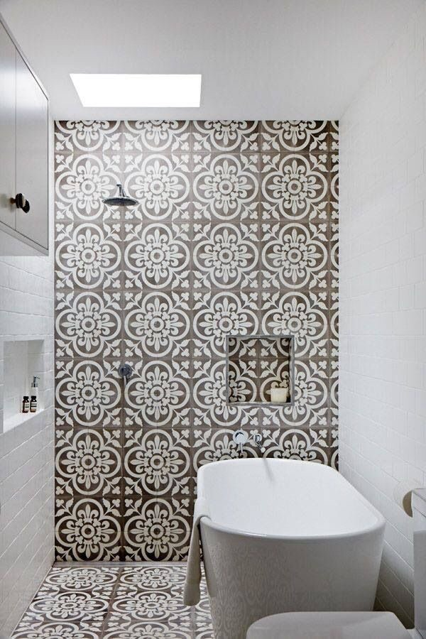 {Image Source: Vintage look cement tiles from Jatana Interiors}