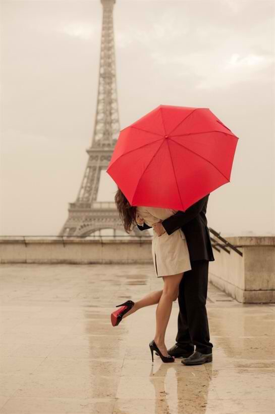 In the rain. {Image Source:
