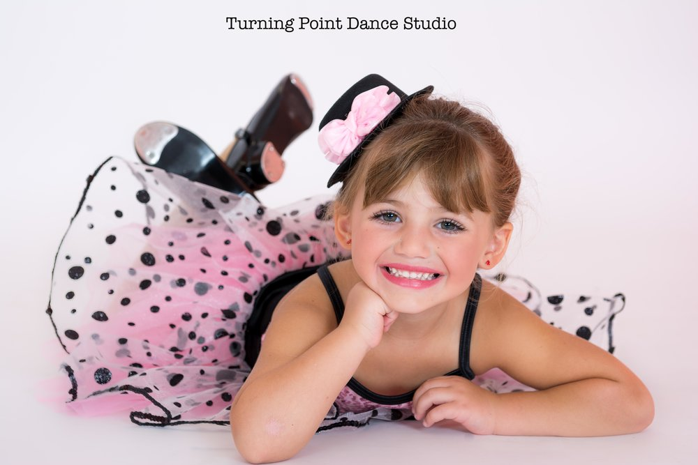 dance studio portrait