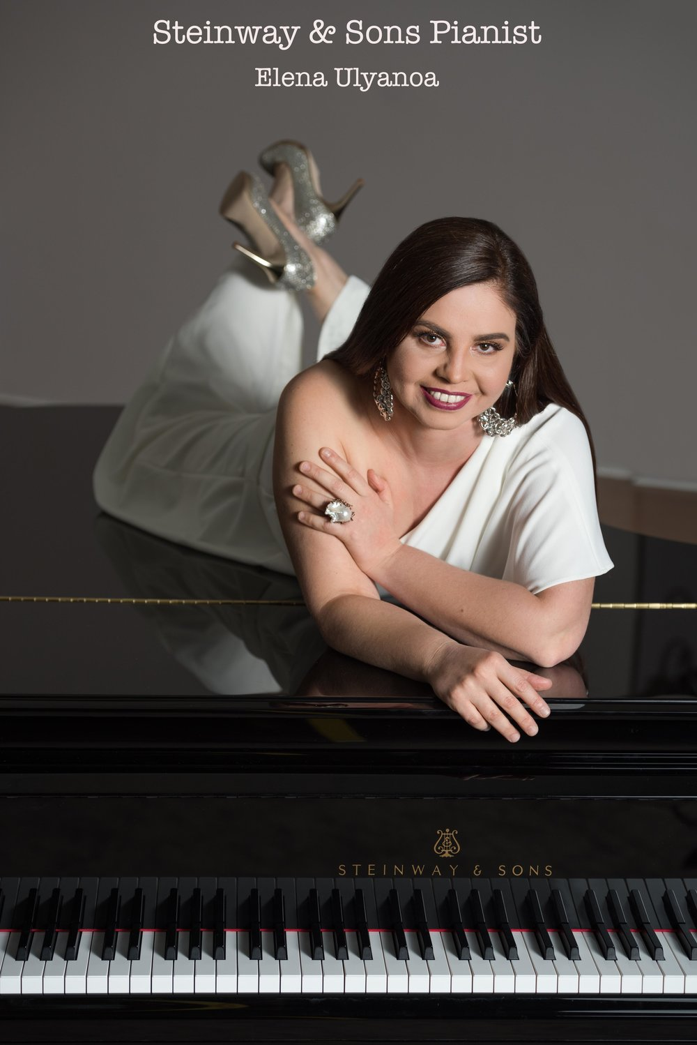 steinway pianist photo session