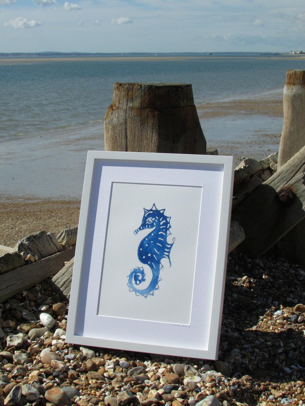 Seahorse on Hayling Island
