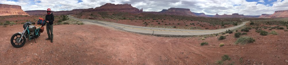 Highway 128 between I-70 and Moab Photo: C Wernikowski