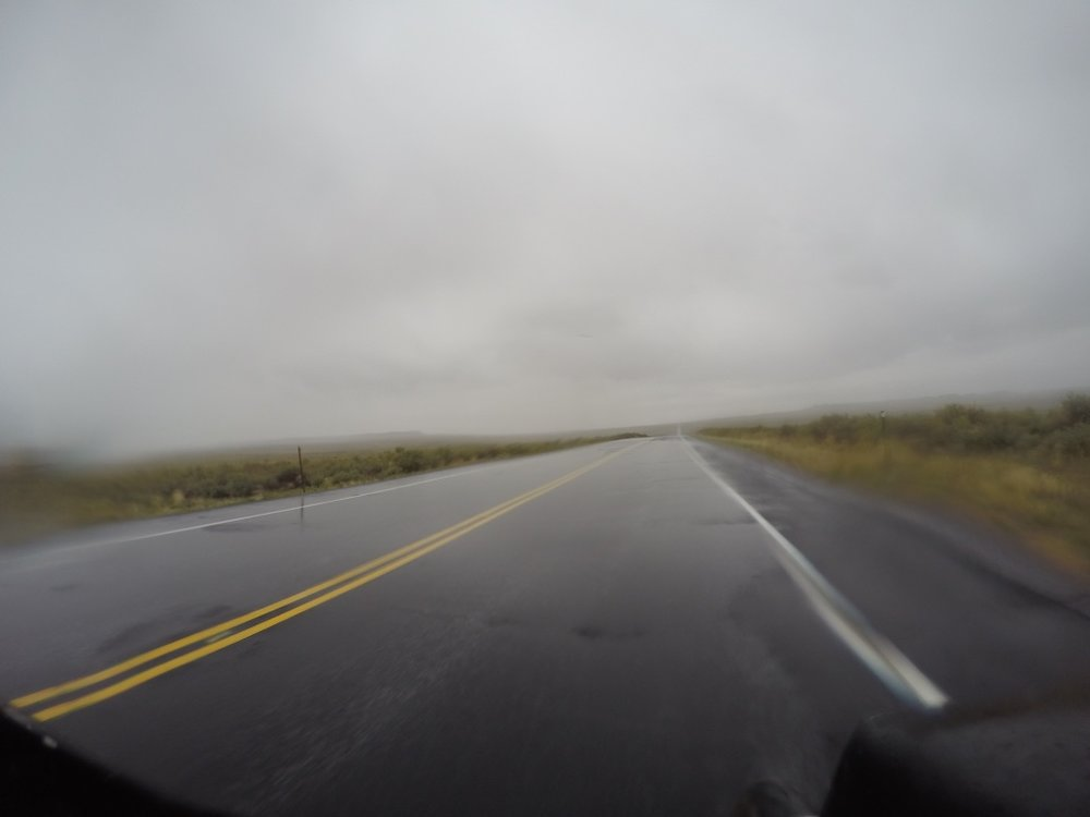 Monsoon Conditions on UT 162