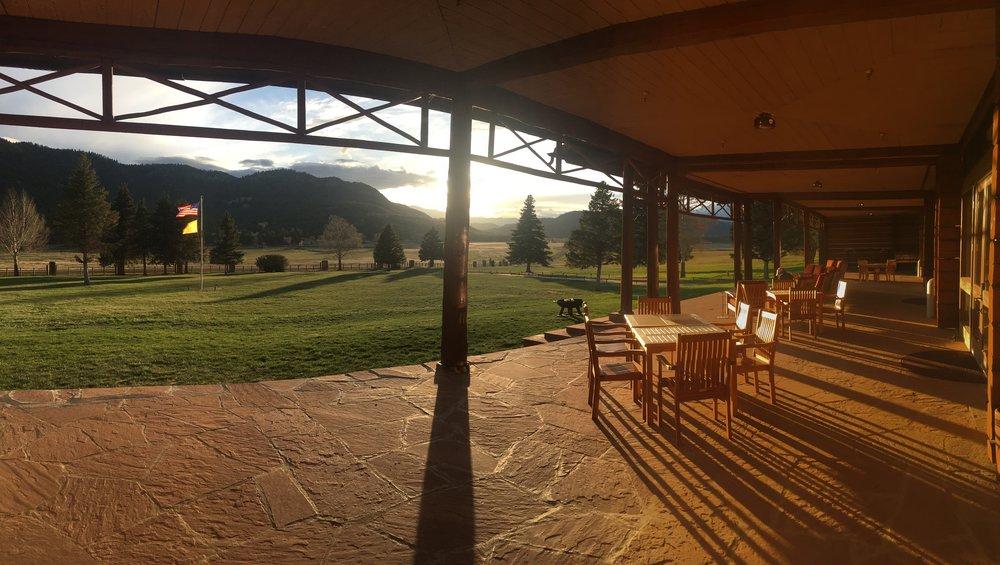 Sun sets over 590,000 acres of Vermejo Park Ranch, NM