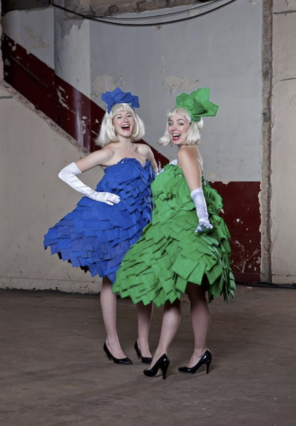 Napkin Ladies Blue & Green.jpg