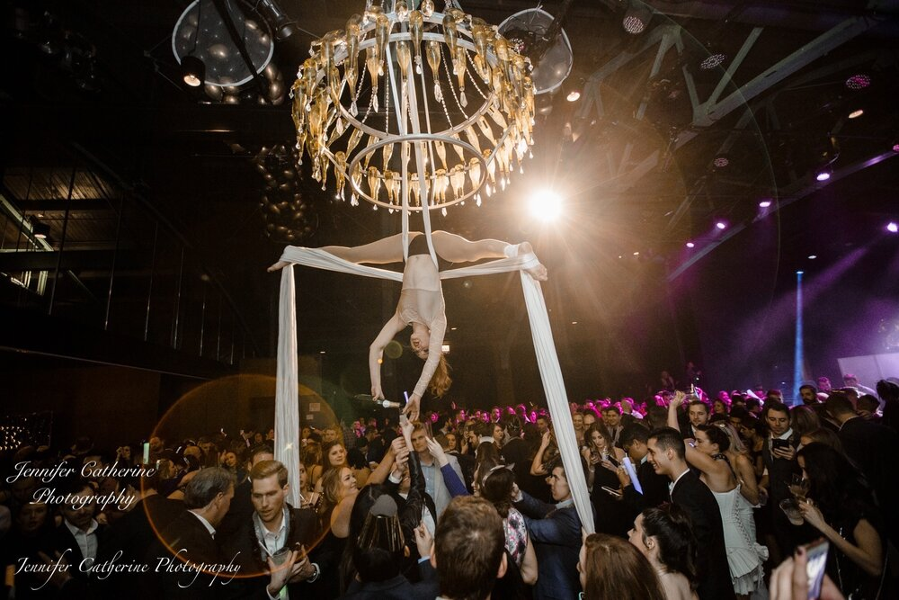 The Champagne Chandelier