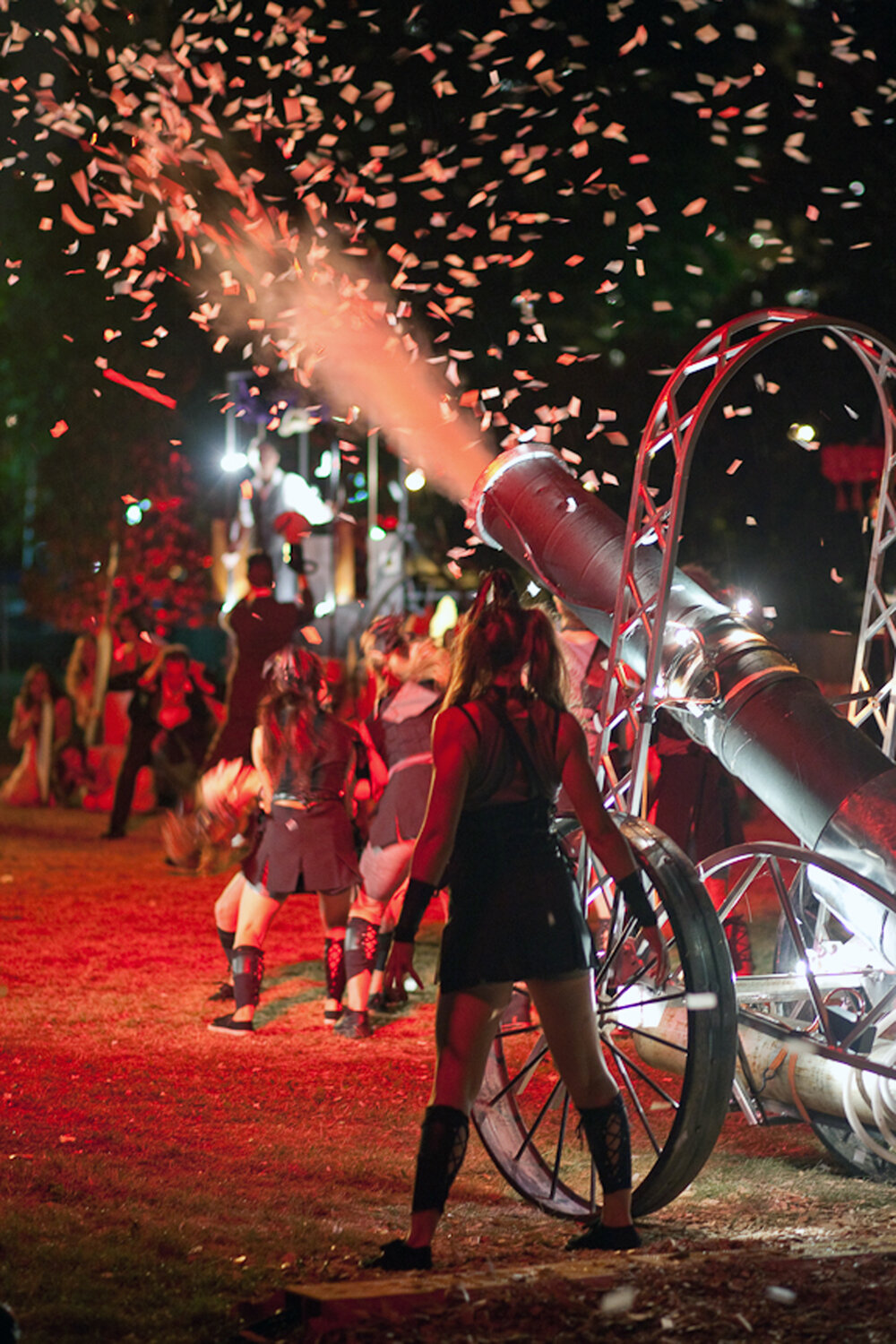 The Confetti Cannon
