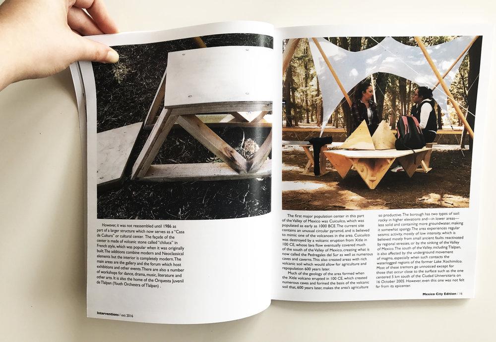 interventions - editorial design