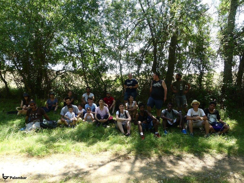 Grupo de participantes | 7 de julho de 2018