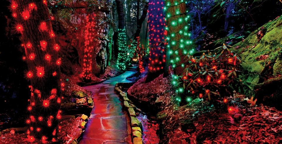 Rock city & Rock City Gardens Enchanged Garden of Lights at Rock City, tnvacation.com