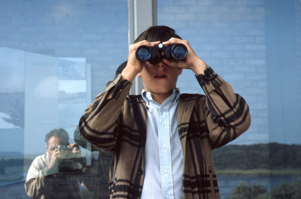 My Dad taking a photo of me, 1965
