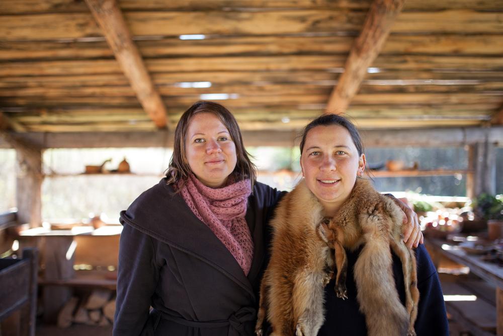Vikingu Kaimas samarbeider med Lofotr vikingmuseum i Norge.Foto: Julie Lunde Lillesæter/Differ Media