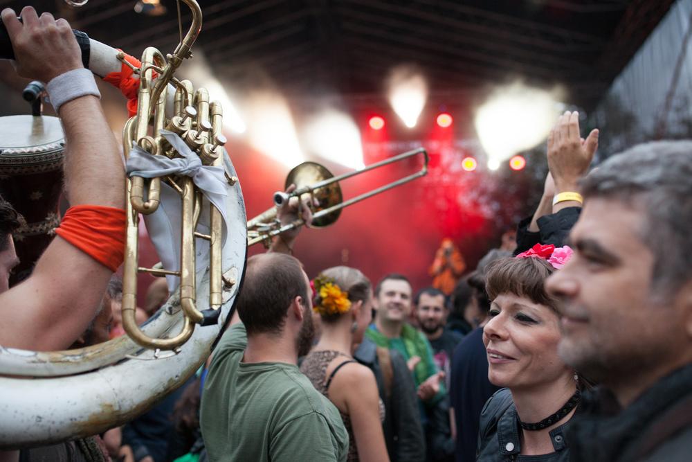 Publikum på Balkanik-festivalen.Foto: Julie Lunde Lillesæter/Differ Media