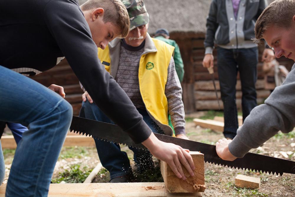 Workshopen er del av et samarbeid med NIKU, Larvik museum og Grodzka Gate i Polen. Foto: Julie Lunde Lillesæter/Differ Media