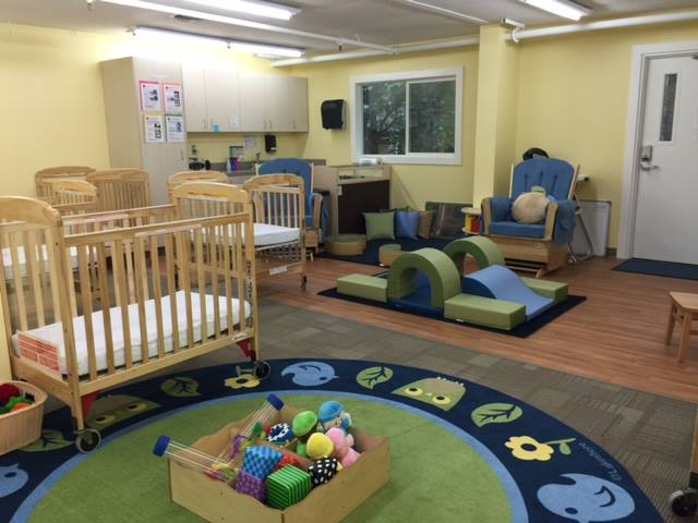 Our new early learning center at Lincoln High School supports children of teen parents.