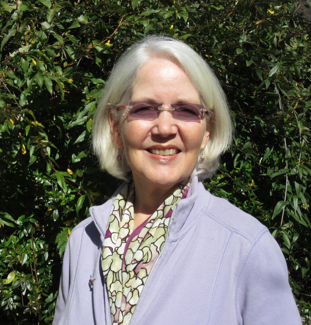 Hope Horton   Hope Horton, DMA, MS, has a background in music, writing, counseling, teaching, organizational management and facilitation. As the co-founder of Sound Accord, Hope and her colleague created and led weekend workshops in sound and energy healing for fifteen years. In the fall of 2011, Hope attended two workshops with Joanna Macy and then collaborated with a small group of people to bring Joanna to North Carolina for eleven days in June of 2012. This deep engagement with Joanna and the Work that Reconnects motivated Hope to participate in founding Hart's Mill Ecovillage and Farm, a forming intentional community near Hillsborough, NC, organized around sustainability (hartsmill.org). Hope has been most active in governance, introducing and implementing sociocracy as a powerful system for community development and decision-making. She has also been led to serve on the board of Timberlake Earth Sanctuary and the advisory council for the Eco-Institute at Pickards Mountain.