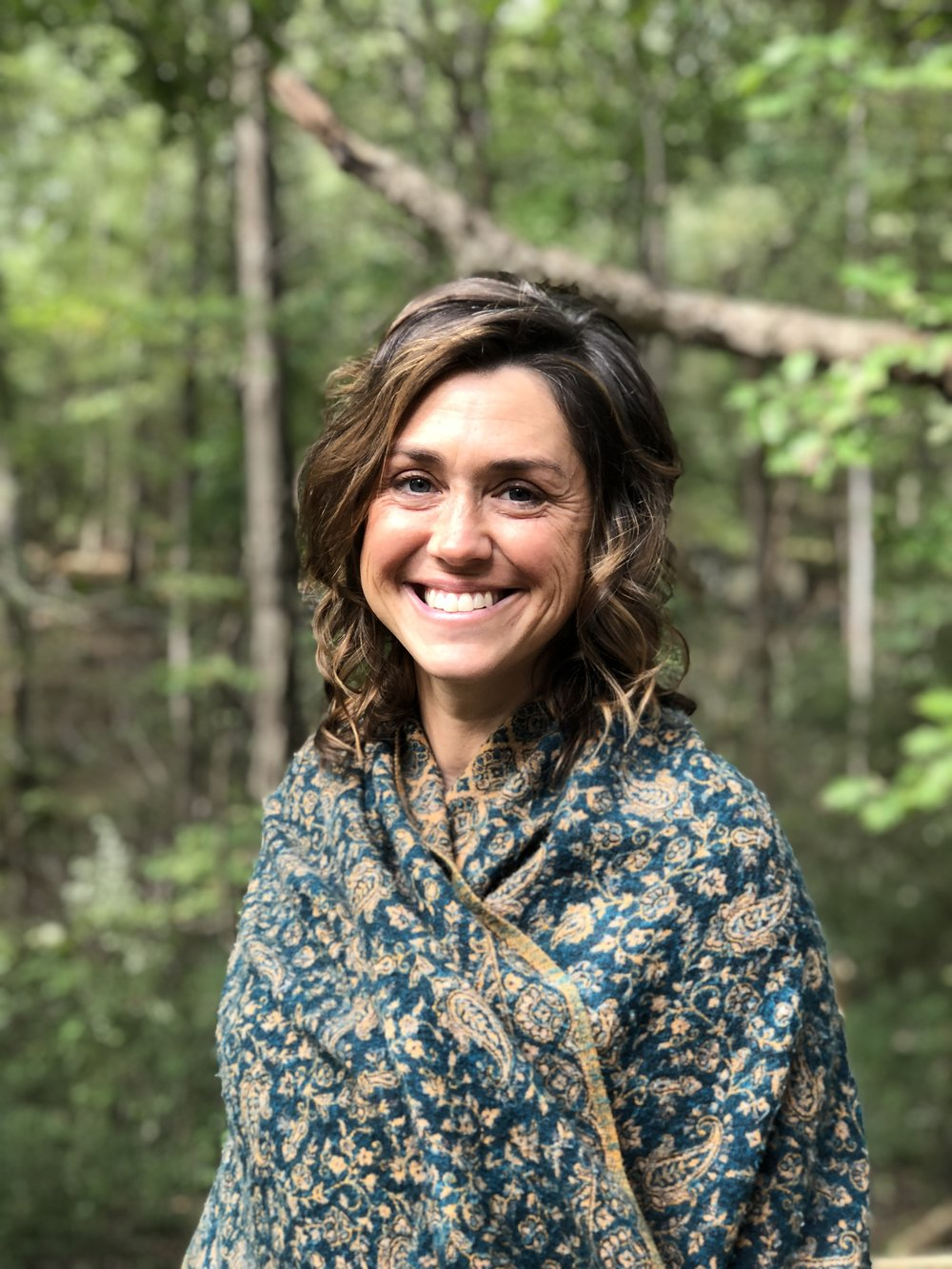 Meg Toben   Megan and her husband, Tim, co-created the Eco-Institute at Pickards Mountain as a sanctuary for nature connection, renewal, and healing the human-Earth relationship. Meg has twenty years of experience as an environmental educator, and ten as an executive director, during which time she has learned useful techniques for cultivating balance while keeping a holistic level of awareness. Meg knows and loves the land here deeply, having raised her family on it for the past twelve years. In 2015, Meg was honored with the Piedmont Environmental Leadership Award. Her love for art, ritual, Earth, and humanity inspire her to offer healing space of deep renewal to all who are working to heal our world.