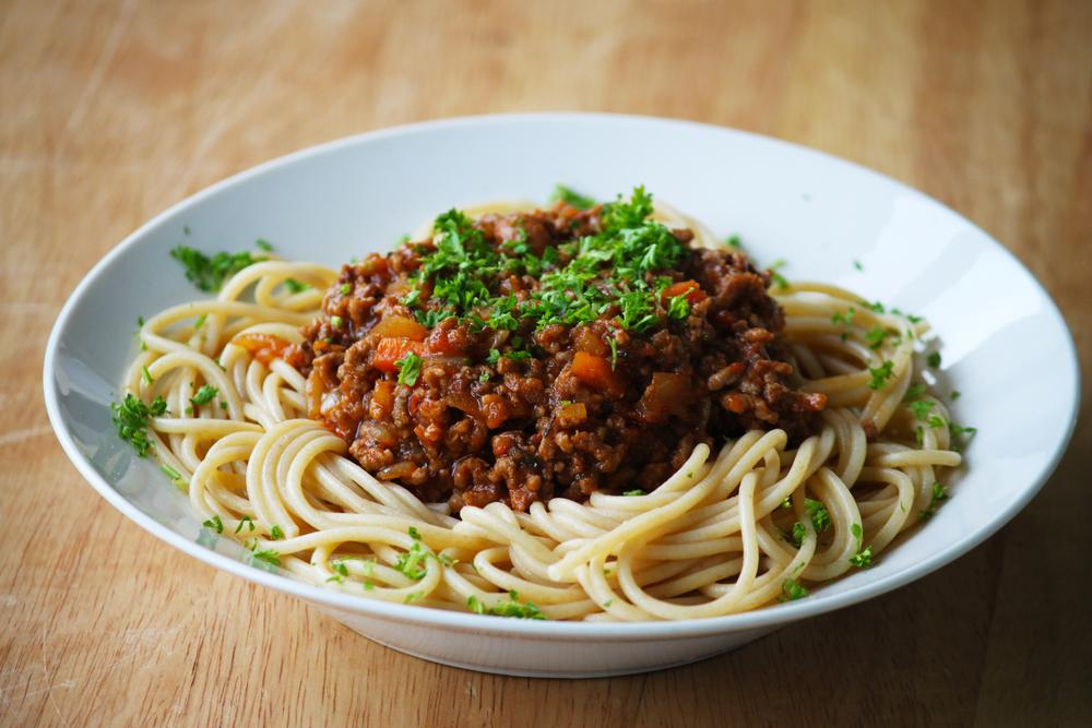 Tomato & Chilli SuperSauce Spaghetti Bolognese