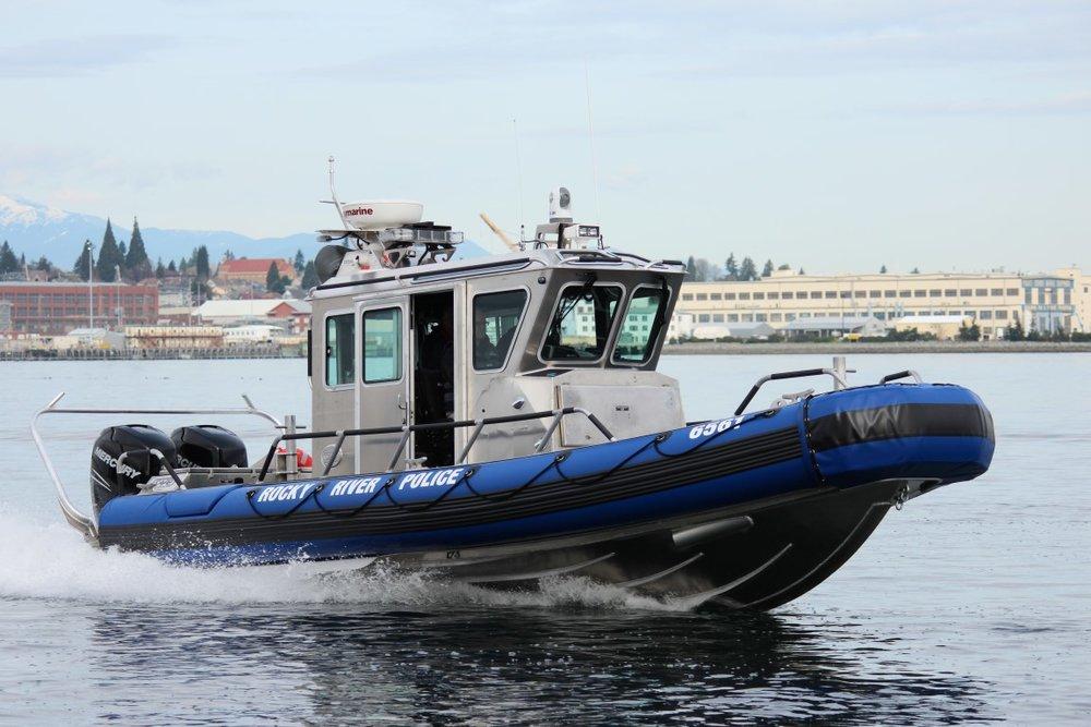 Rocky River police boat argus V